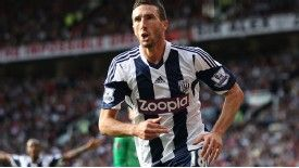 Morgan Amalfitano put West Brom ahead.