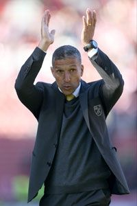 Chris Hughton's Norwich claimed a deserved win at Stoke.