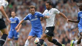 Mousa Dembele impressed for Spurs in the 1-1 draw with Chelsea.