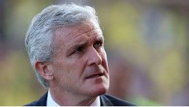 Mark Hughes was baffled by Stoke's poor performance against Norwich.