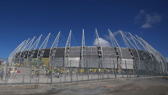 The Castelao was the first of the 2014 World Cup stadiums to be confirmed as ready.