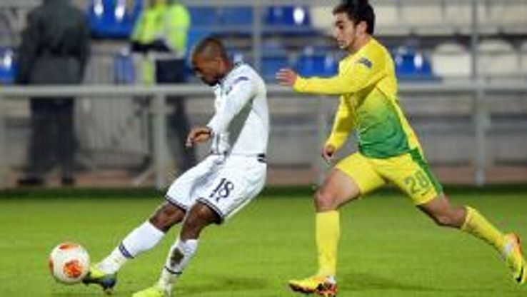 Jermain Defoe set Tottenham on their way to victory over Anzhi.