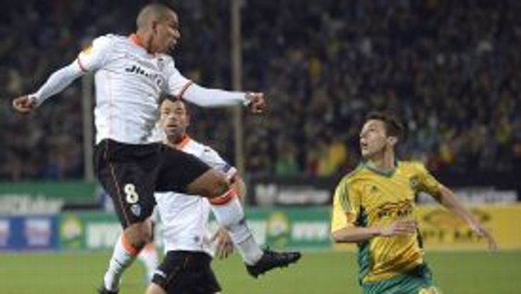 Sofiane Feghouli put the result beyond doubt with Valencia's second goal against Kuban Krasnodar.