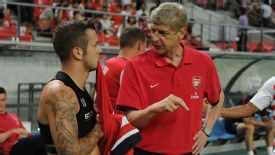 Arsene Wenger was unimpressed to learn that Jack Wilshere indulged ina cigarette on a night out with friends.