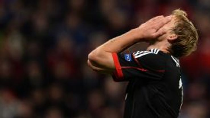 Stefan Kiessling has not been included in the Germany squad despite injury problems in attack.