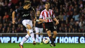 Adnan Januzaj slotted home coolly to make it 1-1 at Sunderland.