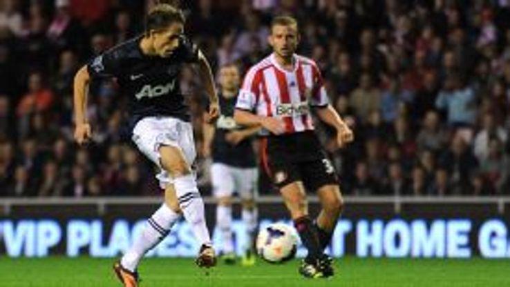 Adnan Januzaj slotted home coolly to make it 1-1 at Sunderland.