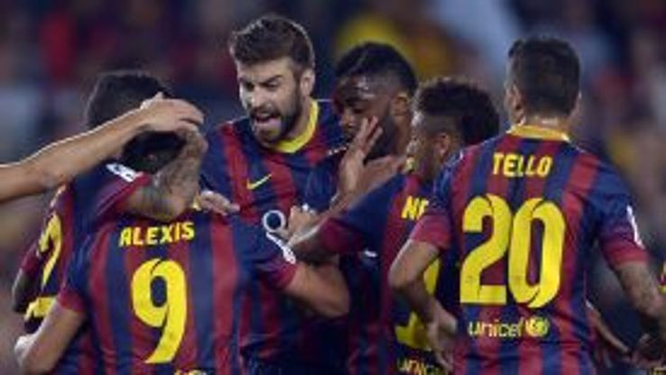 Barcelona rallied back after going a goal down against Real Valladolid