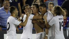 Cristiano Ronaldo salvaged a late win for Real Madrid against Levante