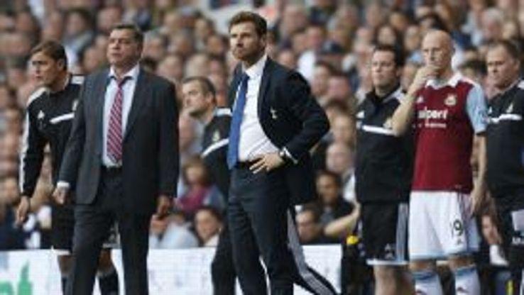Sam Allardyce tactically outwitted Andre Villas-Boas as West Ham beat Tottenham.