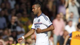 Ashley Cole was substituted during Chelsea's victory at Norwich on Sunday.