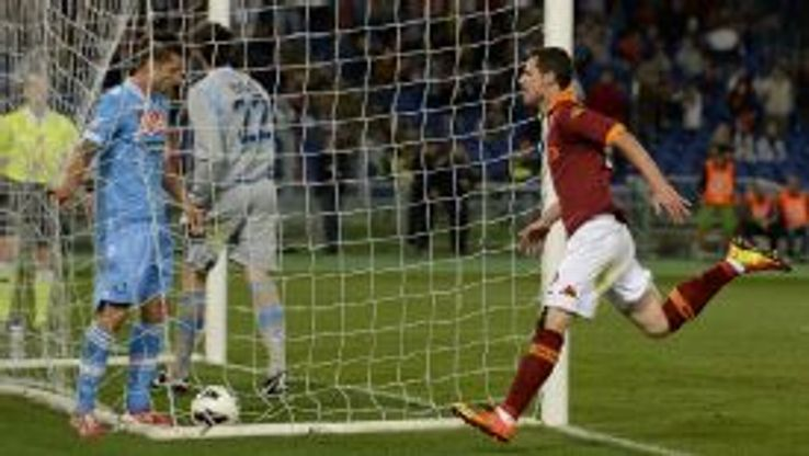 Destro's goal sealed a 2-1 win for Roma to last time the two sides met.