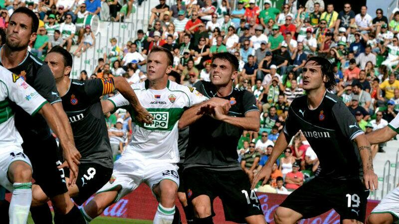 Charlie I'Anson's Elche II team are currently top of Spain's La Segunda B division.