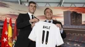 Florentino Perez broke the world transfer record to bring in Gareth Bale this summer, if you believe what Tottenham said.