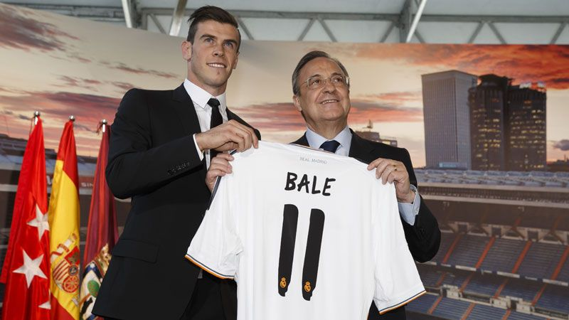 Real Madrid broke the world transfer record to bring in Gareth Bale this summer.