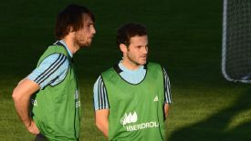 Juan Mata has helped Michu to settle in with the Spanish national team.