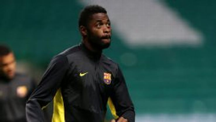 Alex Song has struggled to hold down a regular place in Barcelona's midfield.