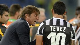 Antonio Conte is similar to Sir Alex Ferguson, says Carlos Tevez.