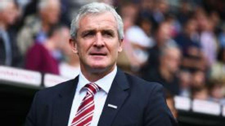 Mark Hughes Stoke City v Fulham