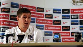 Steven Gerrard was speaking ahead of England's World Cup qualifier against Montenegro.