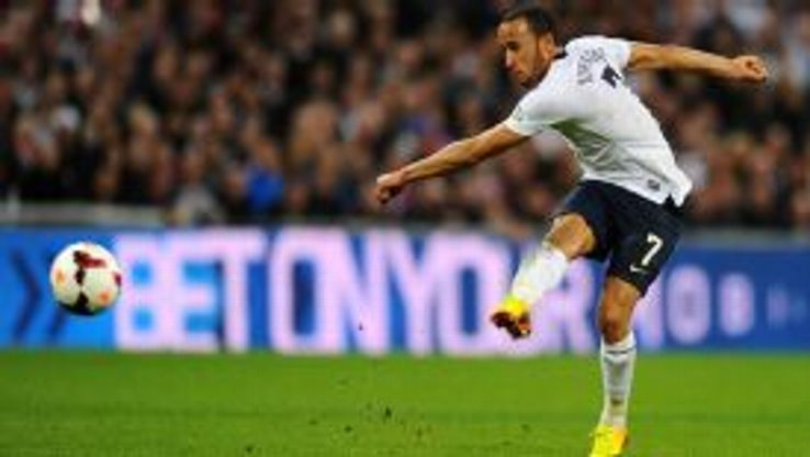 Andros Townsend scored a stunning debut goal for England.