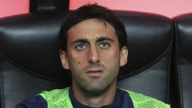 Diego Milito faces another spell on the sidelines.