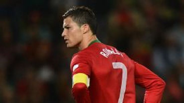 Cristiano Ronaldo endured a frustrating evening as Portugal were held by Israel.