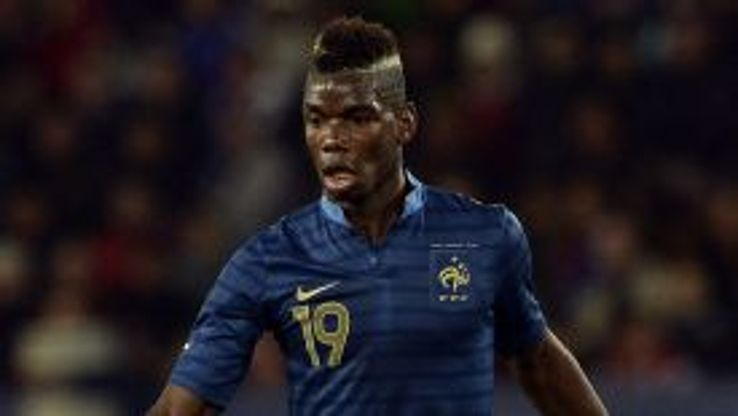 Paul Pogba featured for France as they demolished Australia at the Parc des Princes.