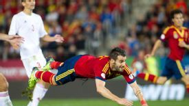 Alvaro Negredo made an immediate impact against Belarus.