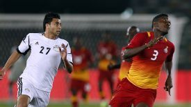 Egypt and Ghana will battle it out for a place at the 2014 World Cup.