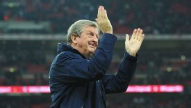 Roy Hodgson savours the moment after leading England to the World Cup.