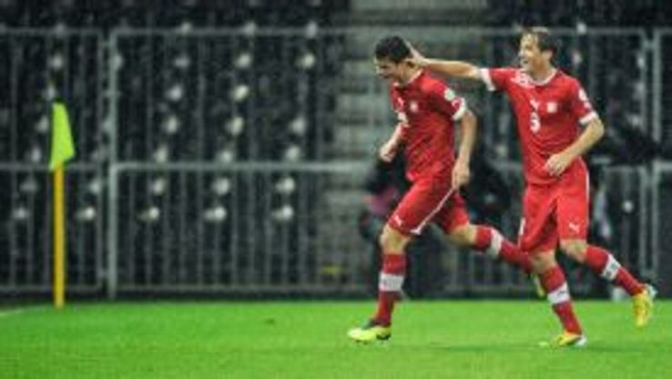 Granit Xhaka scored the only goal of the game to give Switzerland the victory.