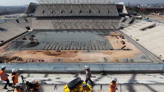 The Arena de Sao Paulo will host the opening match of the 2014 World Cup.