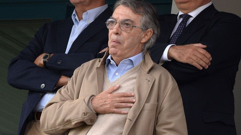 Massimo Moratti has opted to place the club in new hands.