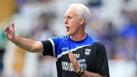 Mick McCarthy is currently in charge of Championship side Ipswich.