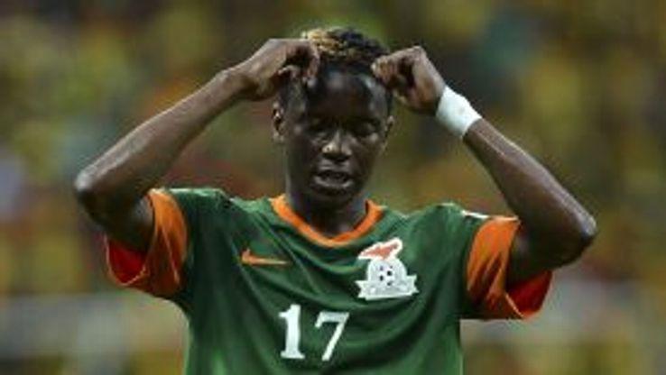 Rainford Kalaba has over 50 caps for Zambia.