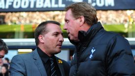 Brendan Rodgers was wanted by Harry Redknapp to work in the England set-up.