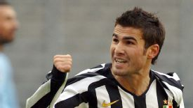 Adrian Mutu scored 10 goals in 33 appearances for Juventus.