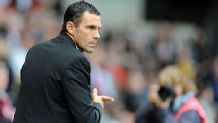Gus Poyet takes to the sidelines at Swansea for his first game as Sunderland boss.