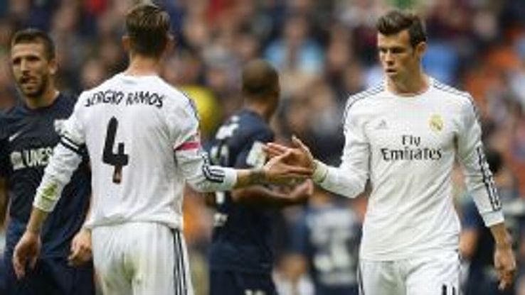 Gareth Bale comes off the bench to finally make his return from injury.