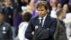 Antonio Conte has nowhere to hide as Juventus throw away the game at Fiorentina.
