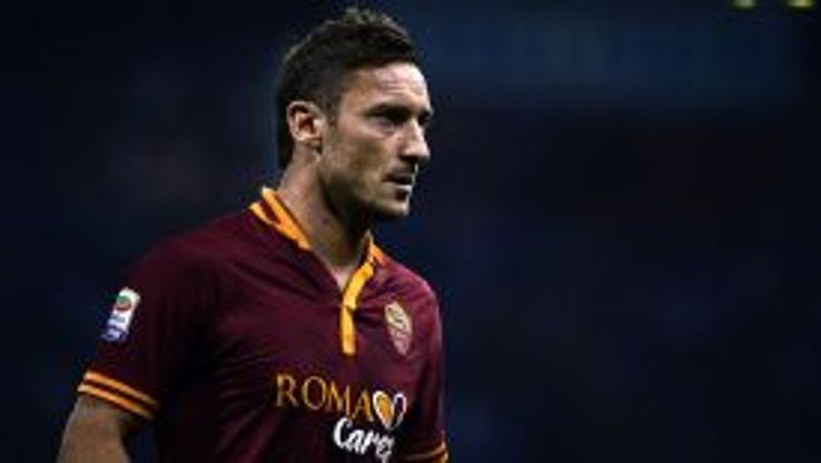Who better to be the poster boy for the new Roma kit than Giallorossi legend Francesco Totti.