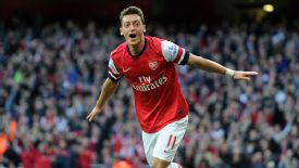 Mesut Ozil scored a brace for Arsenal against Norwich.
