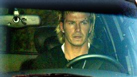 David Beckham required stitches after he was struck by a flying boot in a dressing-room incident in 2003.