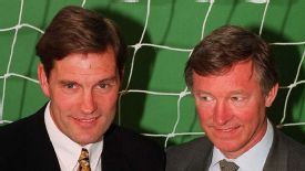 Sir Alex Ferguson had the opportunity to replace Glenn Hoddle as England manager.