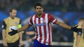 Diego Costa scored on his Champions League debut against Austria Vienna.