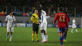 Yaya Toure was subjected to racist chanting during Man City's win over CSKA Moscow.