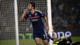 Lyon edged past Rijeka thanks to Clement Grenier's goal.