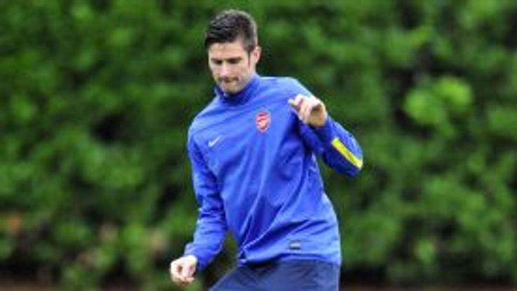 Arsenal have relied heavily on Olivier Giroud this season.