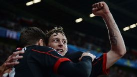 Stefan Kiessling put in a fine performance against Shakhtar Donetsk.